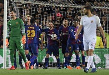 برشلونة يضع قدمه الأولى في المربع الذهبي لدوري أبطال أوروبا 46