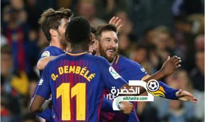هاتريك ميسي يقود برشلونة لتعزيز صدارته بفوز على ضيفه ليغانيس بثلاثية 41