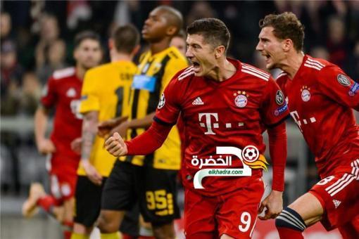 بايرن ميونخ يبلغ دور الـ16 من دوري أبطال أوروبا 24