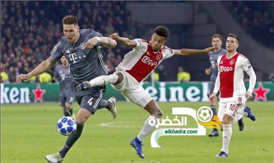 أياكس أمستردام يحقق تعادلًا مثيرًا مع بايرن ميونخ في مباراة مجنونة 24