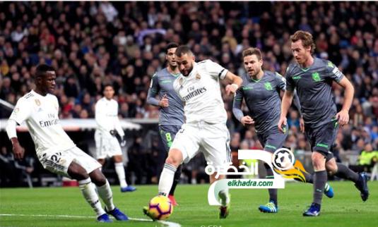 ريال سوسيداد يقسو على ريال مدريد بثنائية في البرنابيو 24