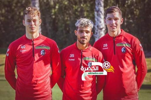 """""""بوخالفة"""" شاب جزائري مع الفريق الأول لفرايبورغ الألماني ! 24"""