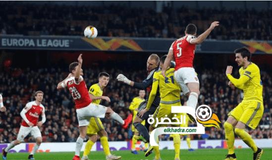 آرسنال يبلغ الدور ثمن النهائي من بطولة الدوري الأوروبي 24