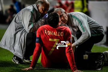 """كالتشيو ميركاتو :""""التقارير الأولية تفيد بغياب رونالدو عن الملاعب لمدة شهر"""" 34"""