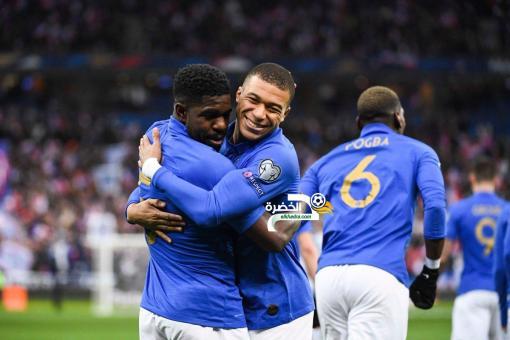 فرنسا تسحق ضيفتها آيسلندا برباعية 24
