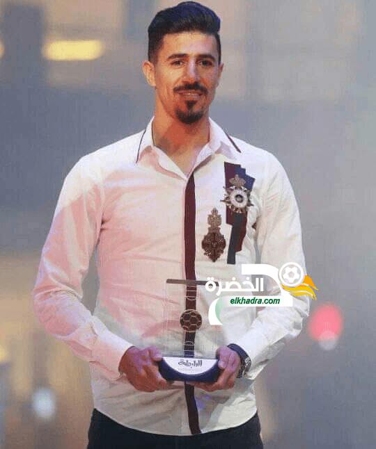 بغداد بونجاح يتوج بجائزة أفضل مهاجم في الدوري القطري 26