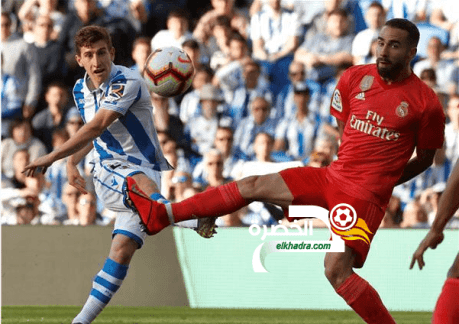 ريال مدريد يتلقى الهزيمة على يد مضيفهريال سوسيداد 24