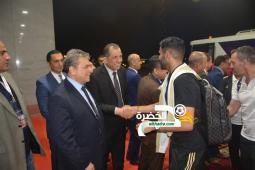 بالصور .. وصول المنتخب الوطني إلى مصر للمشاركة في كان 2019 26