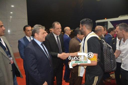 بالصور .. وصول المنتخب الوطني إلى مصر للمشاركة في كان 2019 24