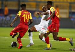 منتخب غانا يسقط في فخ التعادل مع بنين 25