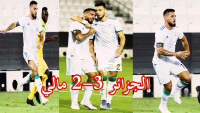 شاهد لقطات المنتخب الجزائري امام مالي بالصور algeria 3-2 mali 25