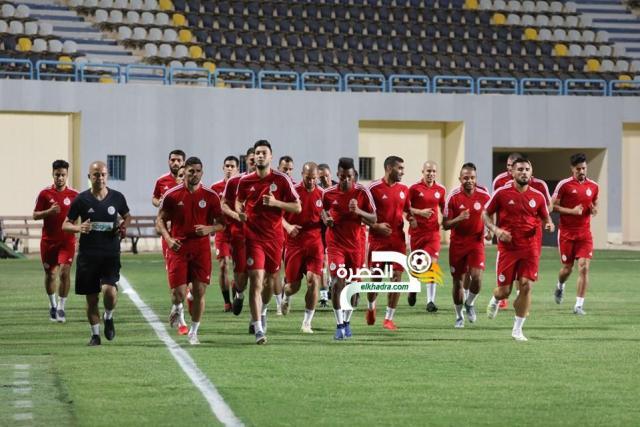 بالصور .. الخضر يجرون أول حصة تدريبية بمصر 25