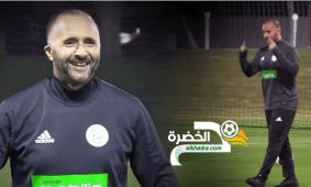 """بلماضي :"""" منتخب الجزائر ليس برشلونة"""" 30"""