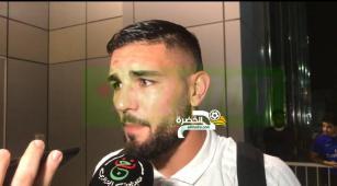 """ديلور :""""فخر كبير أن أسجل أول هدف لي مع الخضر، تحيا الجزائر"""" 27"""