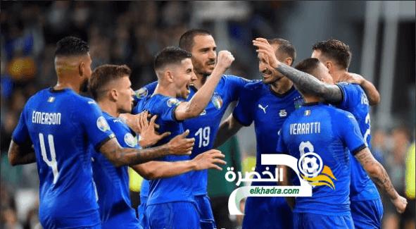 منتخب إيطاليا يحقق فوزًا صعبًا على ضيفه البوسنة والهرسك 24
