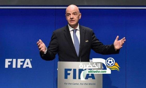 أنفانتينو (رئيس الفيفا): ''منتخب الجزائر فريق كبير'' 24