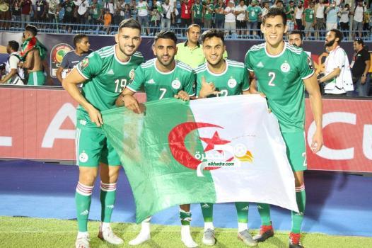 التشكيلة المتوقعة للمنتخب الجزائري امام السنغال في نهائي كان 2019 28