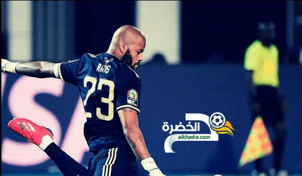 مبولحي اكثر الحراس الجزائريين مشاركة مع الخضر 68 مباراة 28