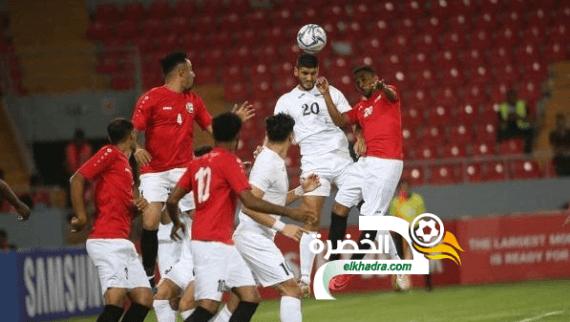 المنتخب الفلسطيني يستهل بطولة غرب آسيا بالفوز على اليمن 24