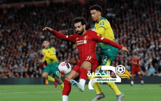 ليفربول يسحق ضيفه نوريتشي سيتي في إفتتاحية الدوري الإنجليزي 24