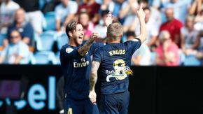 ريال مدريد يفتتح مبارياته في الليغا بالفوز على سيلتا فيغو 52