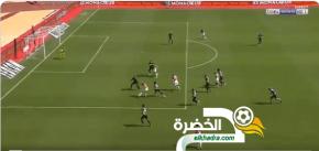 اسلام سليماني يسجل اول اهدافه مع موناكو ضد نيم 34