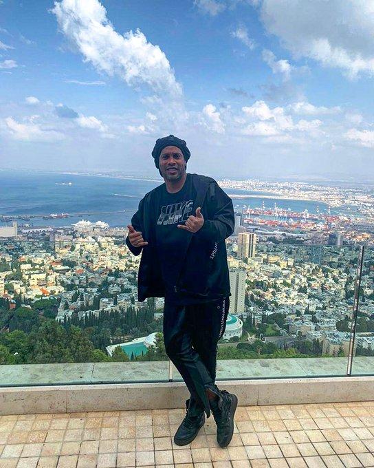 رونالدينيو يثير الجدل بسبب زيارته إلى الأراضي المحتلة في فلسطين ! 2