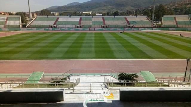 بالصور : أرضية ملعب مصطفى تشاكر جاهزة لإحتضنان مباراة الجزائر وزيمبابوي 28