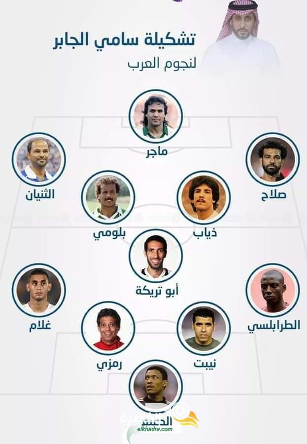 غلام وبلومي وماجر ضمن التشكيلة المثالية لأفضل اللاعبين العرب على مر التاريخ 25