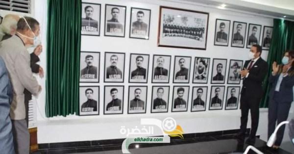 بالصور .. تعليق صور أعضاء فريق جبهة التحرير الوطني لاول مرة بمقر وزارة الشباب و الرياضة 25