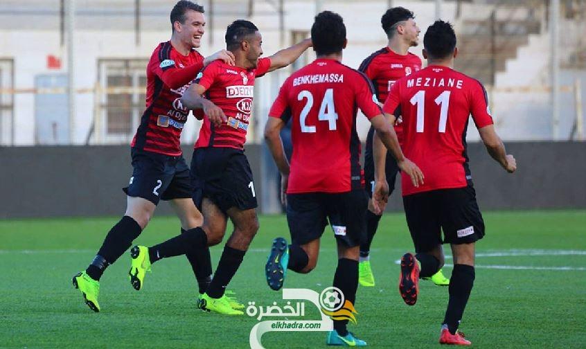 اتحاد العاصمة يفوز على نجم مقرة بثلاثة أهداف دون رد