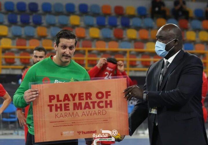 الجزائر 24-23 المغرب : الحارس ياسين الإدريسي أفضل لاعب في المباراة