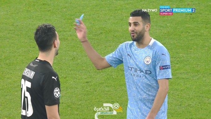 شاهد بالفيديو كل مافعله رامي بن سبعيني ودخول محرز بديلا في مباراة اليوم