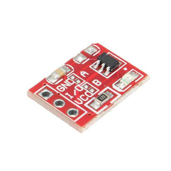 Touch bryter TTP223 Touch modul Capacitive touch modul 3