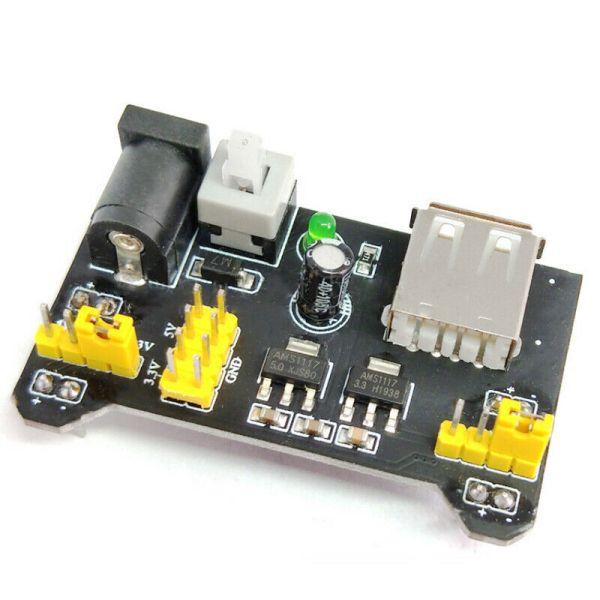 1PC MB102 Breadboard Power Supply Module 3.3V 5V/7-12V For Arduino Bread Board PowerSupply