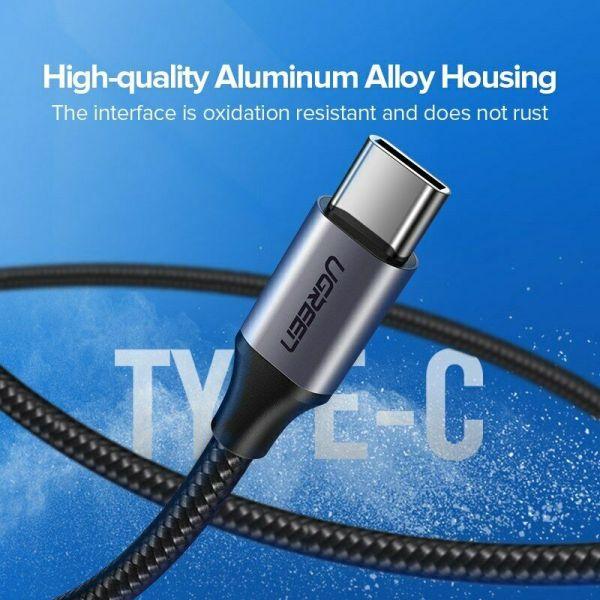 Ugreen USB til USB-C kabel 3A Fast Charge Cable 0,5m Ugreen USBc05