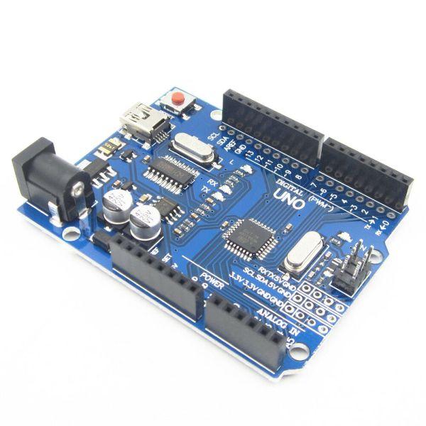 UNO R3 ATmega328P CH340 Mini USB Board for Arduino IDE ArduinoUNO R3 03