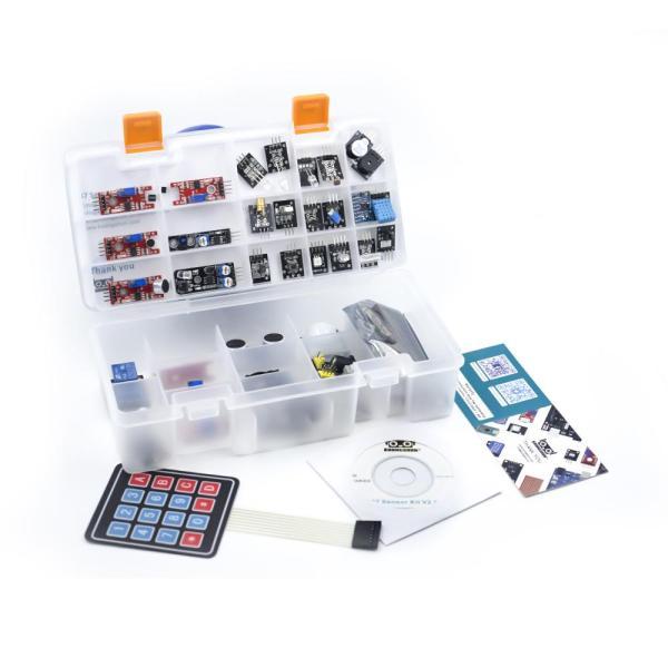 Arduino Kit med 37 sensormoduler versjon 2.0 - Sensor Modules Kit for Arduino, NodeMCU, Raspberry Pi osv Sensorkit 37sensorv2 4 dafe19a4 0f45 4d2b ae2b b3a0949abad8