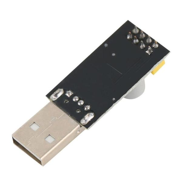 USB til seriell CH340G USB to ESP8266 ESP-01/01S Serial Wifi Adapter Module Development Board ESP link ESP8266 serial02
