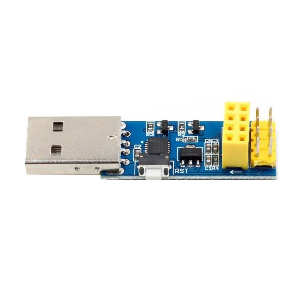 USB til seriell CH340G USB to ESP8266 ESP-01/01S Serial Wifi Adapter Module Development Board ESP link ESPlink01