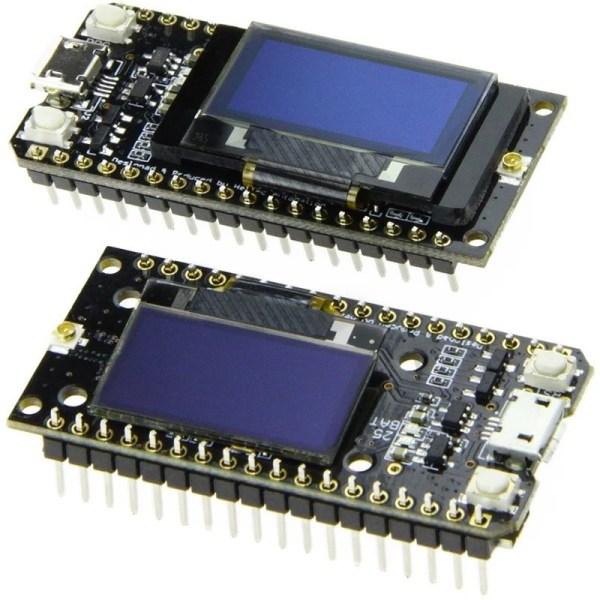 2 stk LORA32 868Mhz SX1276 ESP32 Oled-Display Bluetooth WIFI Lora Development Board img 6740 1