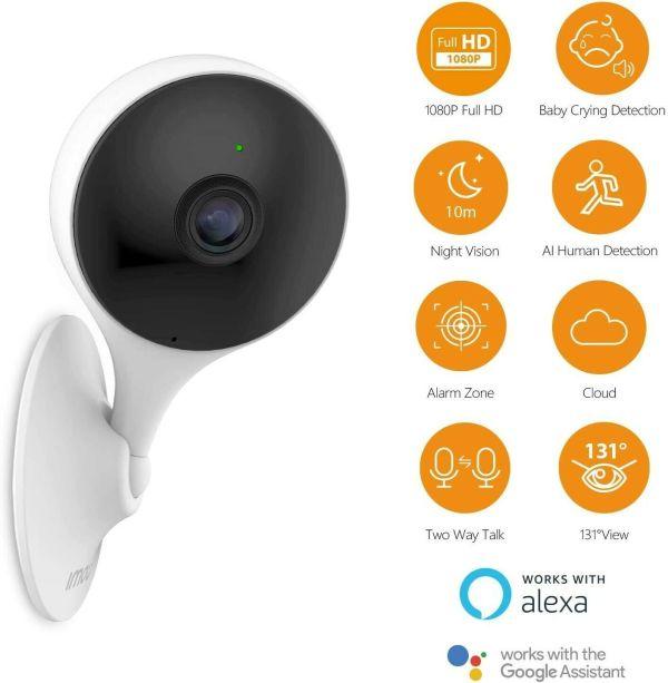 IMOU Cue 2 overvåkingskamera med AI-teknologi imoucue201