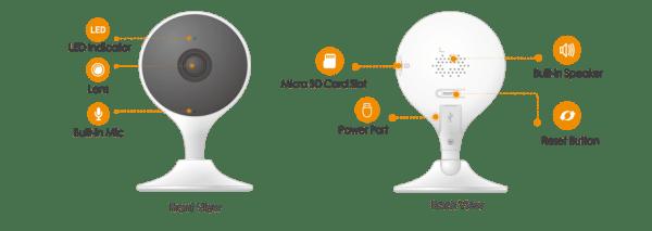 IMOU Cue 2 overvåkingskamera med AI-teknologi imoucue202
