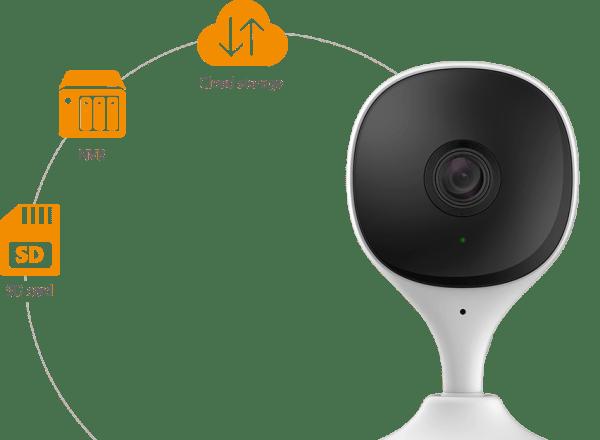 IMOU Cue 2C overvåkingskamera med AI-teknologi imou cue 2c