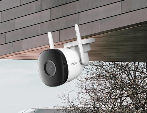 IMOU Bullet 2 utendørs overvåkingskamera med AI-teknologi, skylagring imoubullet2c 01