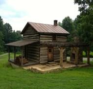 Log cabin and pergola- Elk Mountain Contracting