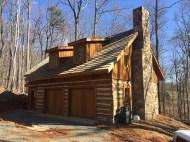 Log Cabin/ Garage- Elk Mountain Contracting