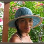 Southern Breeze Crochet Hat Pattern in the Making!