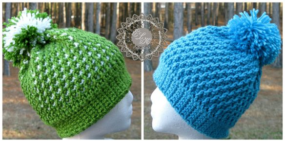 Morning Frost free beanie pattern by ELK Studio