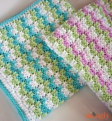 Moogyly -Stripes-and-Blocks-Blanket-Pair